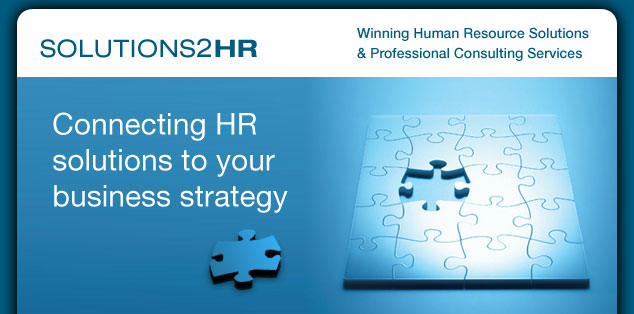 Solutions2HR | Connecting HR solutions to your business strategy